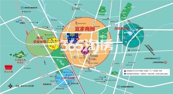 深港亚太中心交通图