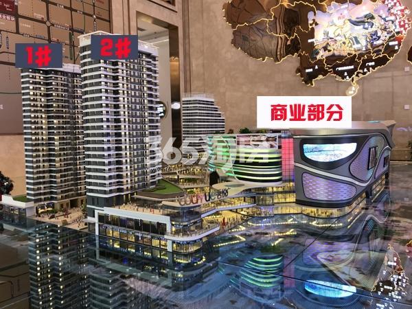 西安新城吾悦广场实景图