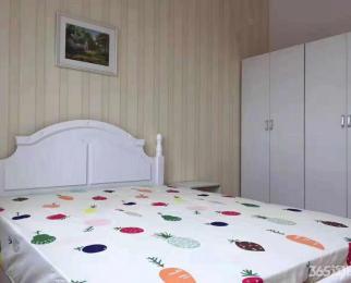 万达西地2室2厅1卫88平精装整租南北通透