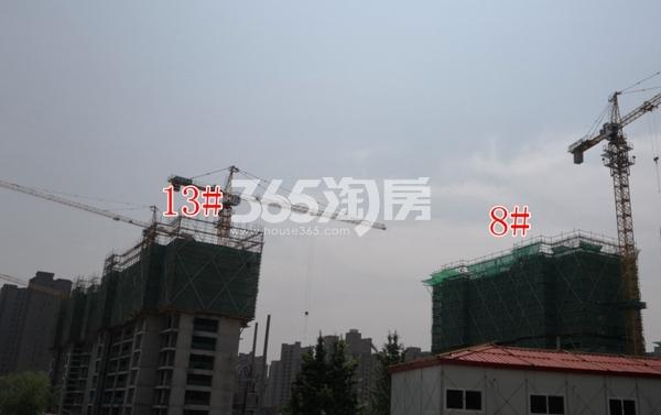 华润置地����御13#楼建约12层,8#楼建约10层以上(6.5)