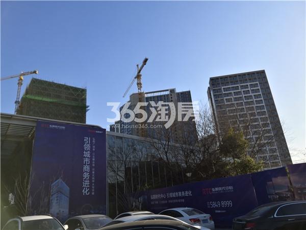 弘阳时代中心项目在建实景图(1.3)