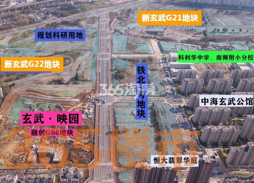 玄武宝龙城实景图