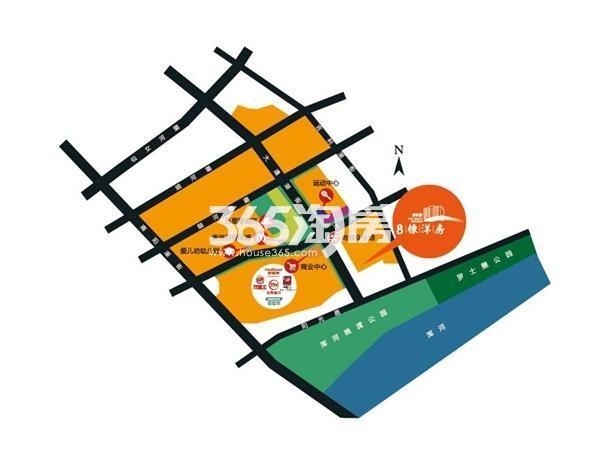 碧桂园银河城交通图