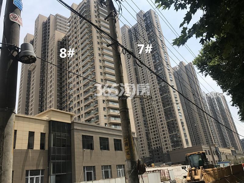 世茂外滩新城项目7、8号楼进展图(10.20)