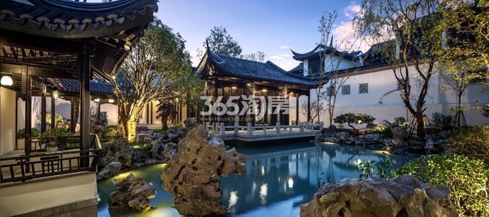 绿城南京桃花源示范区实景图(4.24)