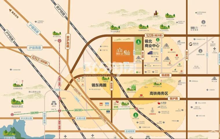 碧桂园金茂悦山交通图