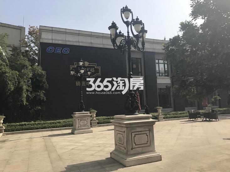 中电颐和府邸项目售楼处实景图(03.09)
