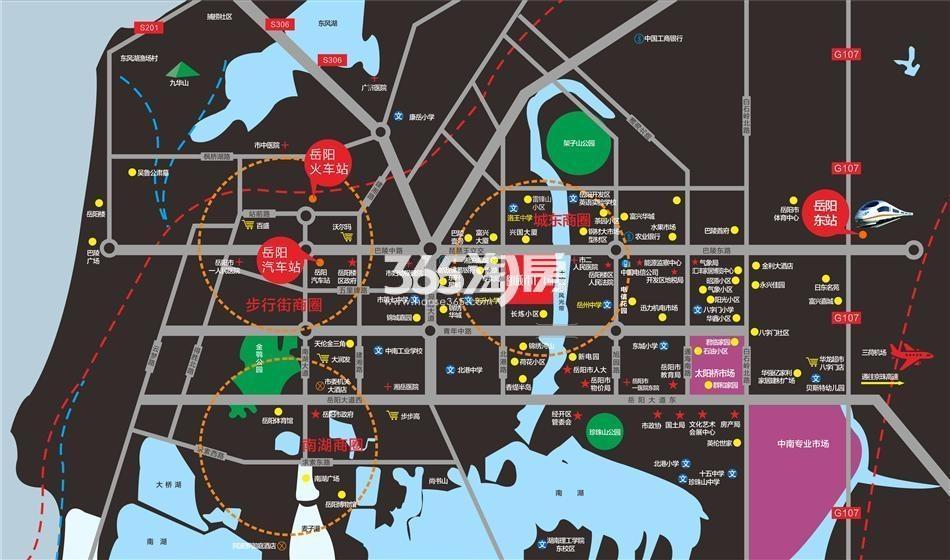 金威·城市广场交通图