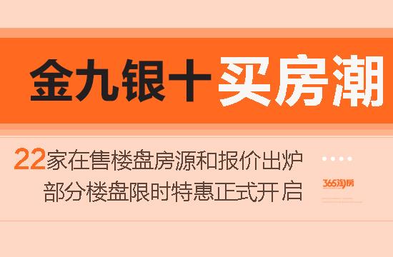 芜湖22家热门楼盘迎战金九银十 部分楼盘限时特惠开启