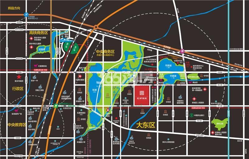孟电·观澜壹号交通图
