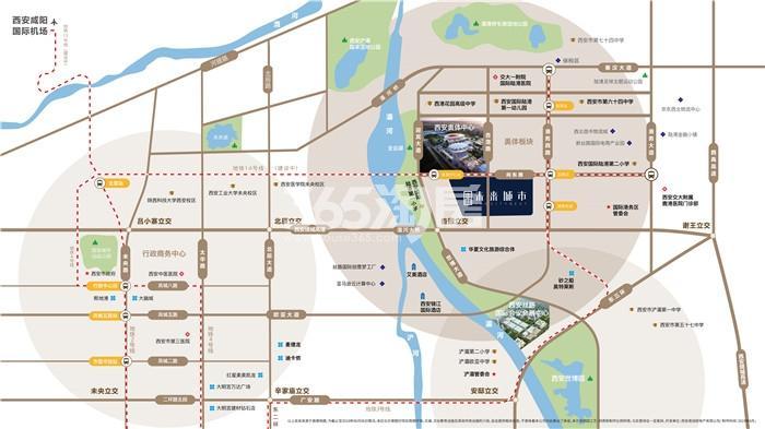 华润置地未来城市交通图