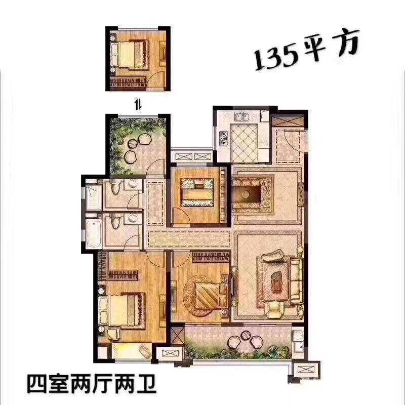 武进新城锦域3室2厅2卫140�O