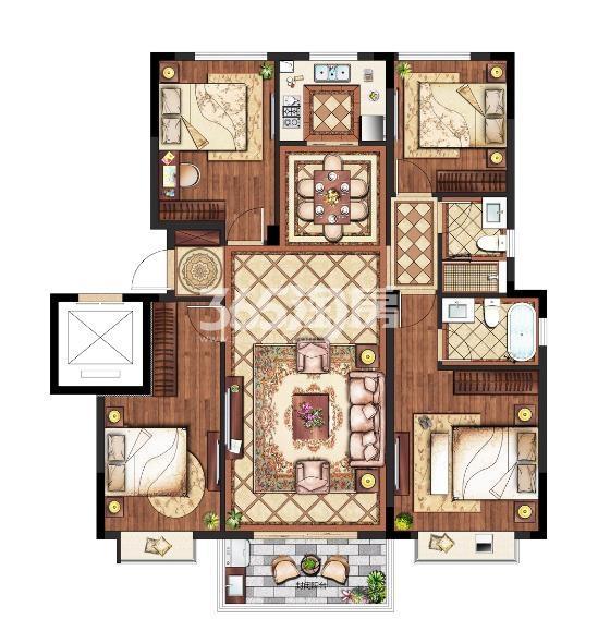 4室 130㎡