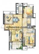 温暖如家 金地自在城 精装三房 拎包入住 便宜换房急卖