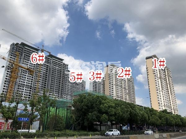 蓝光雍锦园高层1-3#、5#、6#楼实景图(2018.9 摄)