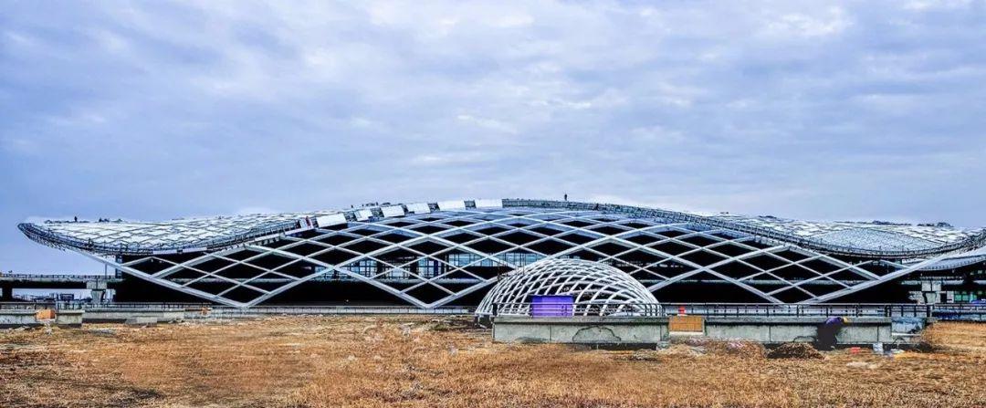南洋机场t2航站楼主体建成!