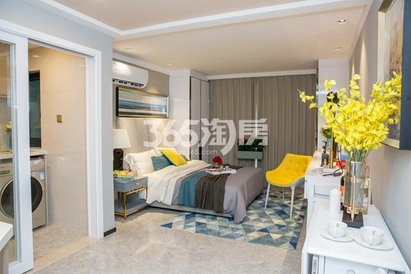 太平洋城中城52-57平双钥匙公寓样板间卧室