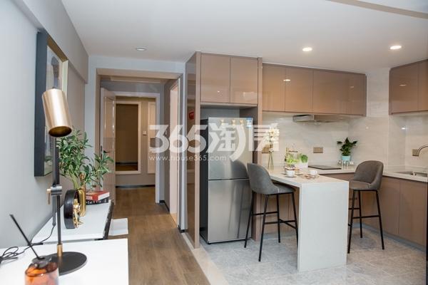 太平洋城中城52-57平双钥匙公寓样板间餐厅