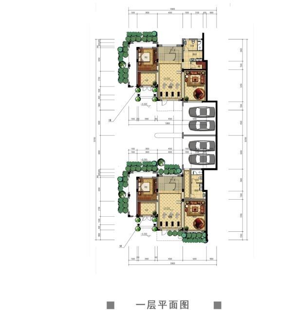 观澜天下56号楼一层户型图