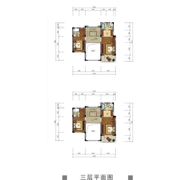 观澜天下56号楼三层户型图