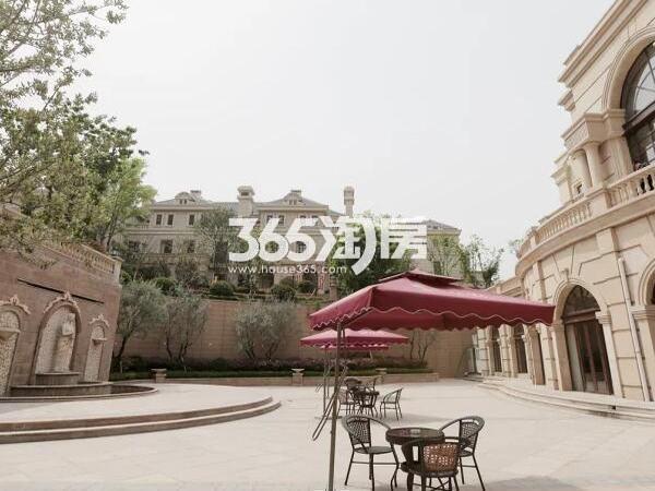 世园大公馆小区街景实景(2017.08)
