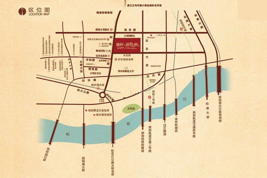 地恒托斯卡纳交通图