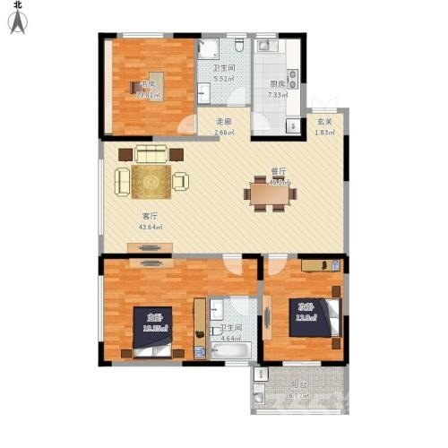 金隅田员外2室2厅1卫265万元89平方
