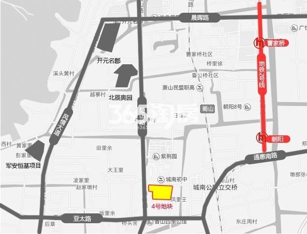 碧桂园天麓府交通图