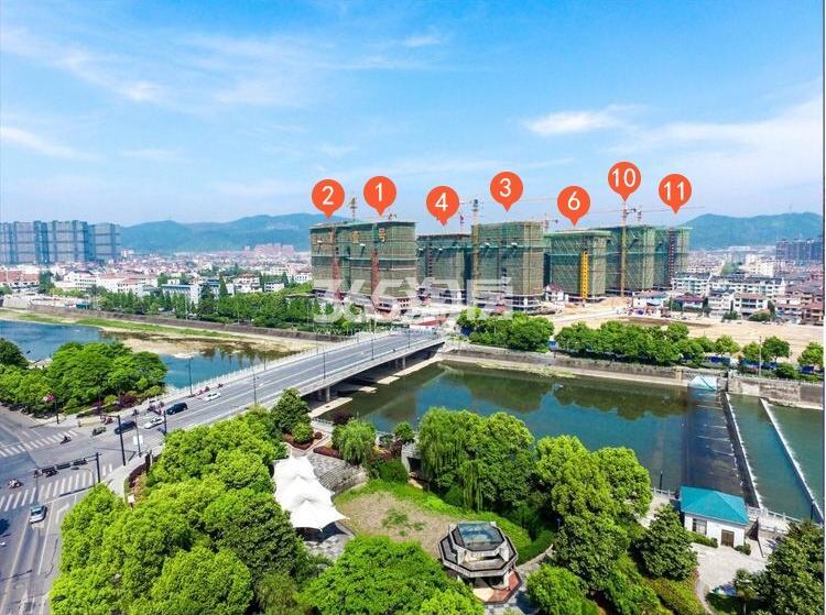 苕溪壹号工程鸟瞰图(2018.4)