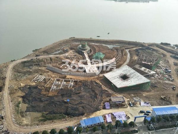 禹洲新城里 湖上升明月 201712