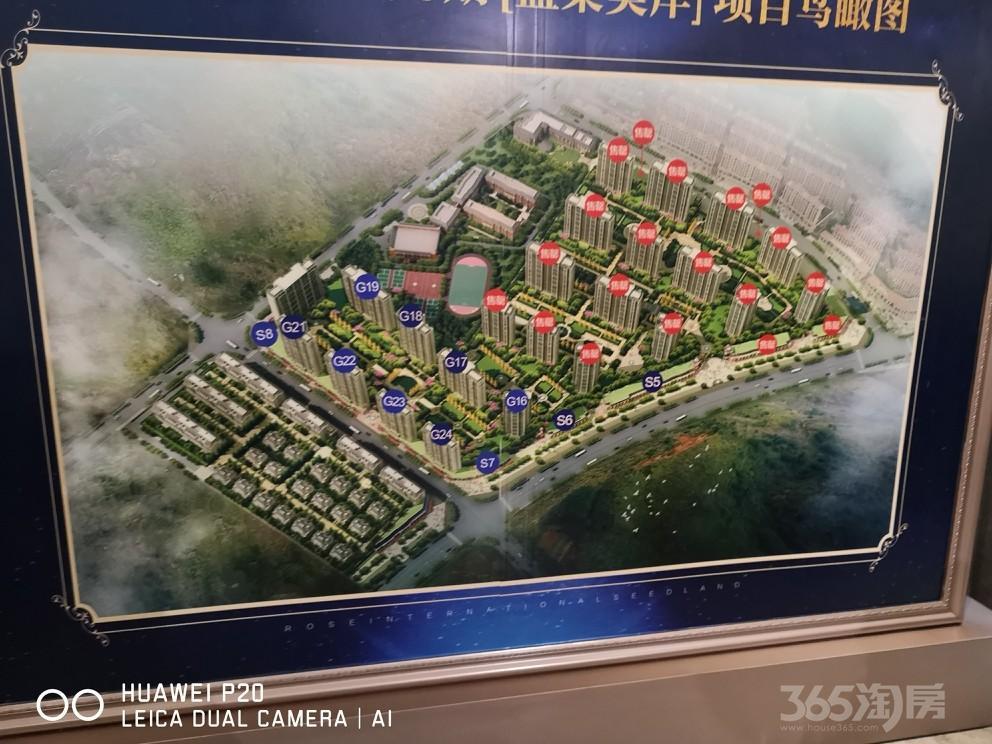 实地・蔷薇国际3室2厅2卫117平米2020年使用权房毛坯