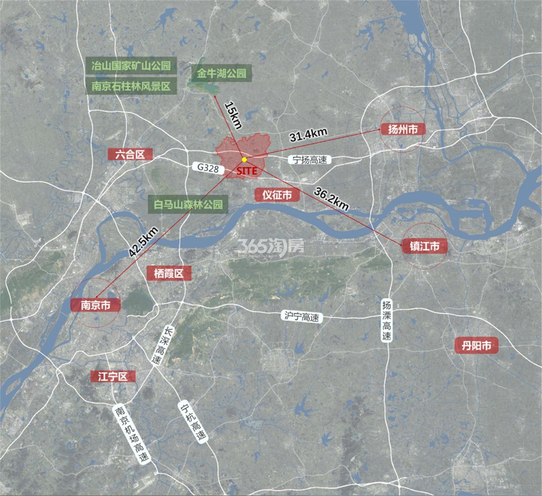 中体玖趣园交通图