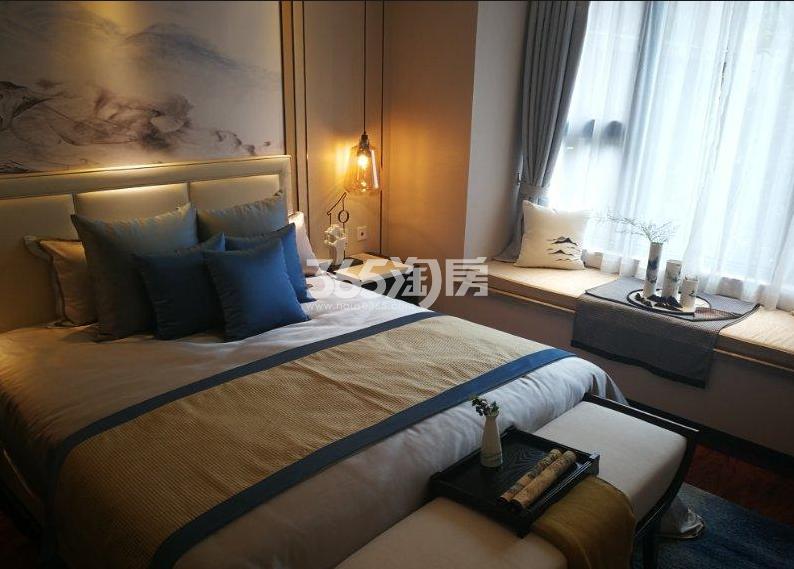 紫云赋江山印400㎡样板间卧室