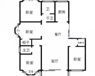 七号线地铁口吉庆家园逢春苑最佳户型