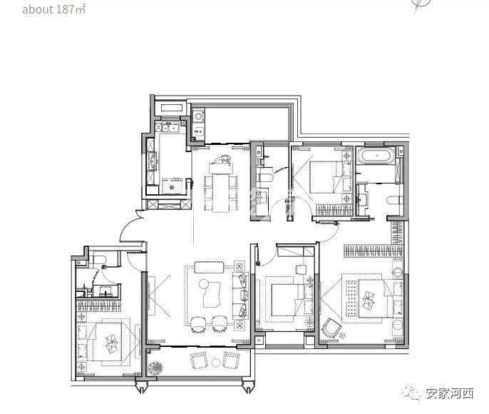 华侨城天鹅堡户型图