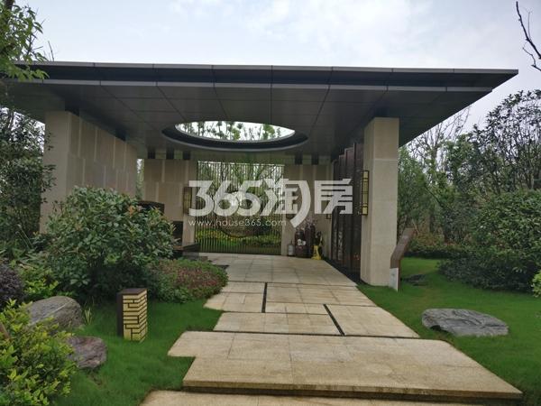 招商公园1872项目示范区实景(2017.12.1)