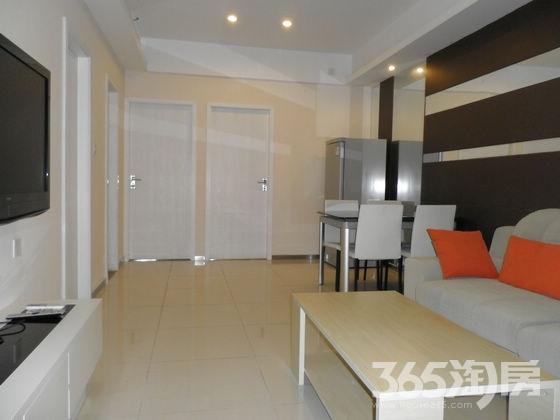 中商万豪中心公寓长短租均可2室1厅1卫60㎡整租精装。可月付