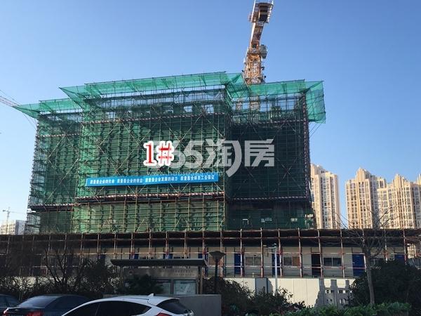 中洲崇安府一期1#楼实景图(2018.3 摄)
