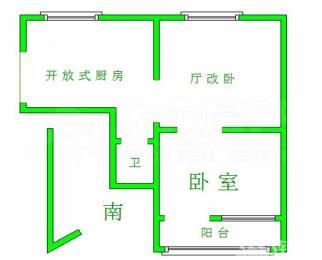 曹张新村1室全装修3楼扬名学区可用直升江南中学超市菜场应有尽有