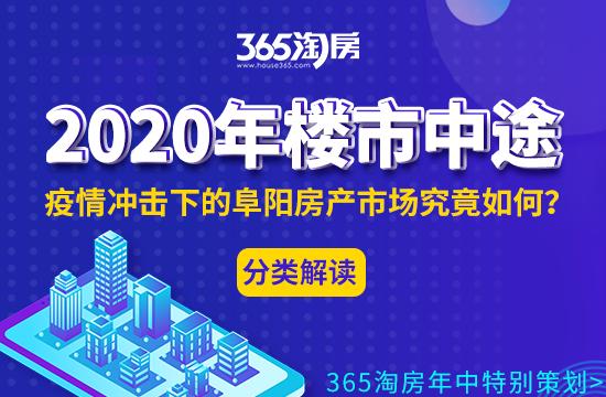 2020年阜阳楼市年中报