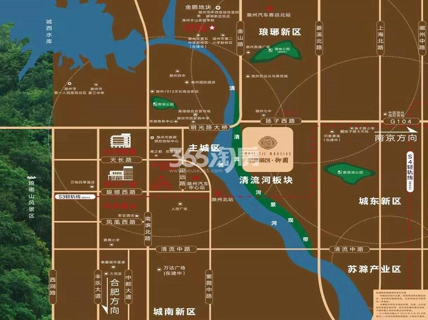 凯迪融创·御园交通图