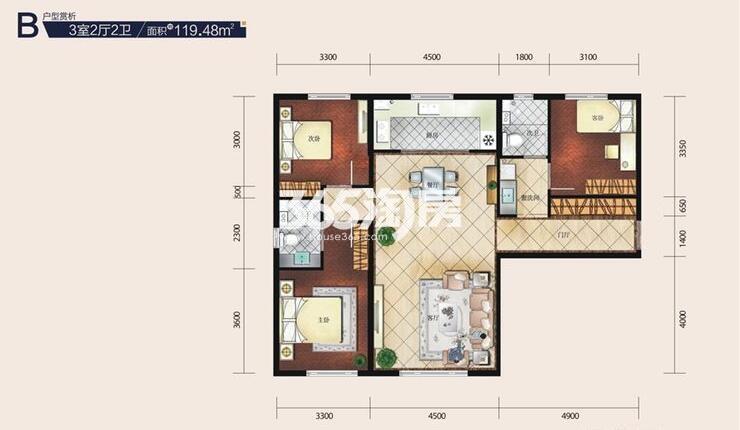 三室二厅119