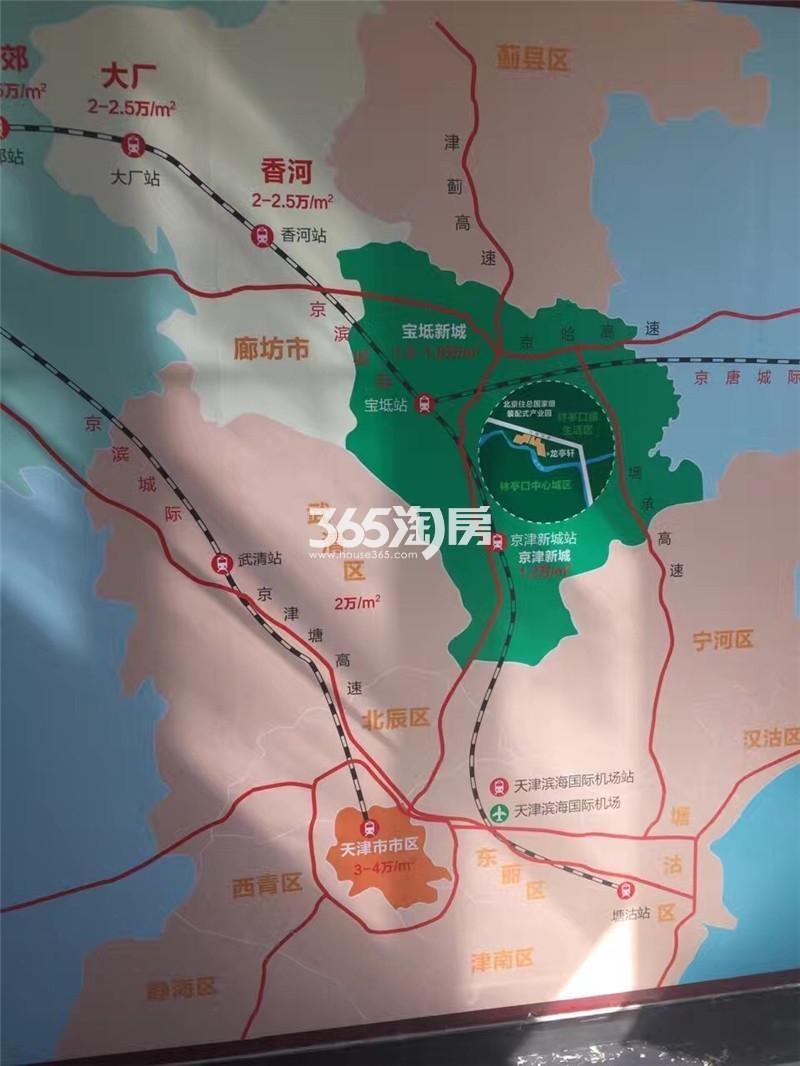 龙亭轩交通图