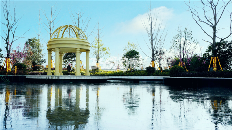 山湖湾实景图
