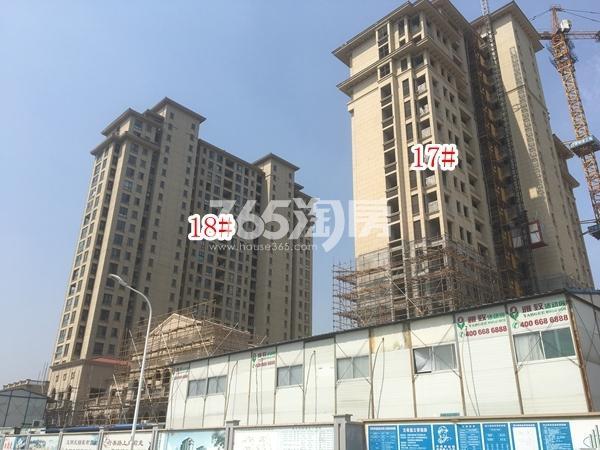 长泰国际社区南地块高层17#、18#楼实景图(2018.6 摄)