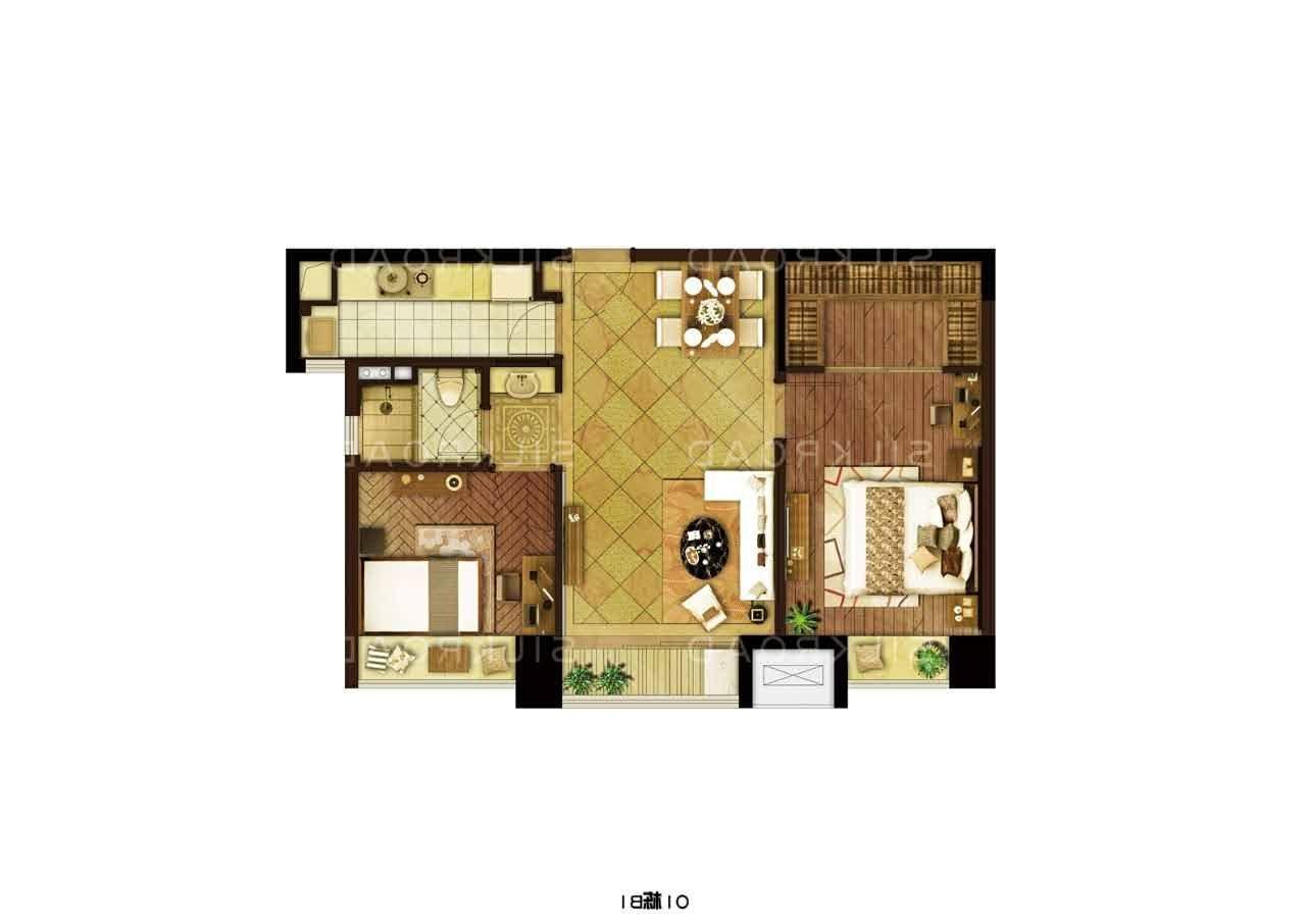 深业滨江半岛2室1厅1卫86.53平方拉小学区精装