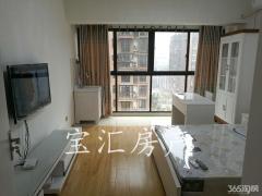 【长江湾公寓来了】全新装修拎包入住+钻石楼层+适合白领情侣居住