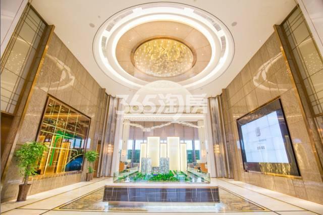 滨湖双玺售楼部内部实景图(10.30)