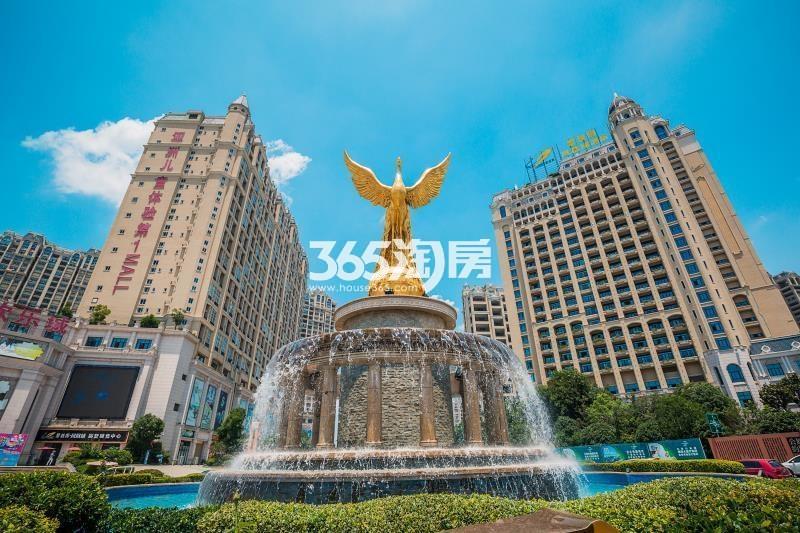 碧桂园凤凰城标志性建筑实景图(8.29)