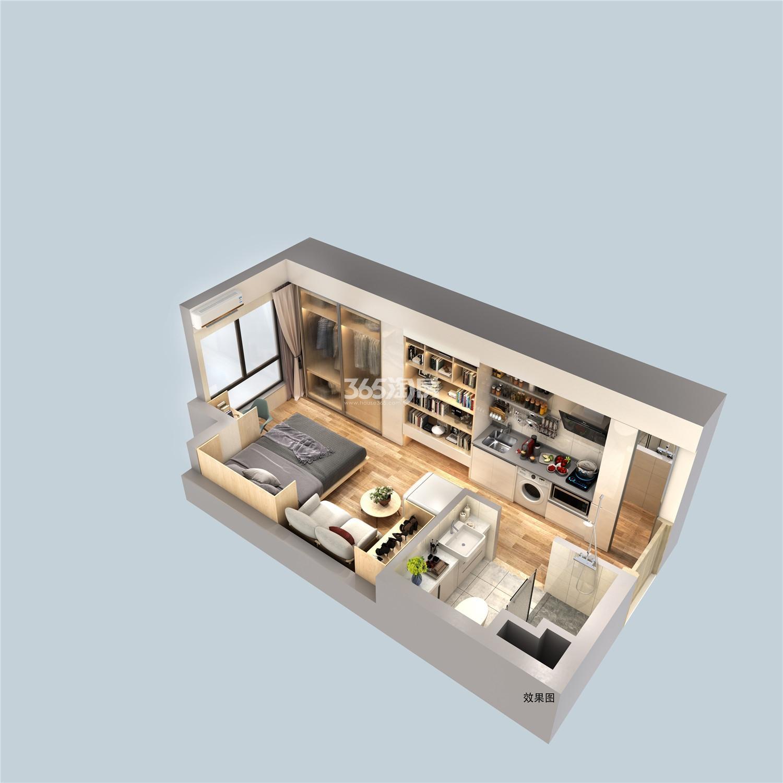 中海龙湾U-LIVE公寓户型图